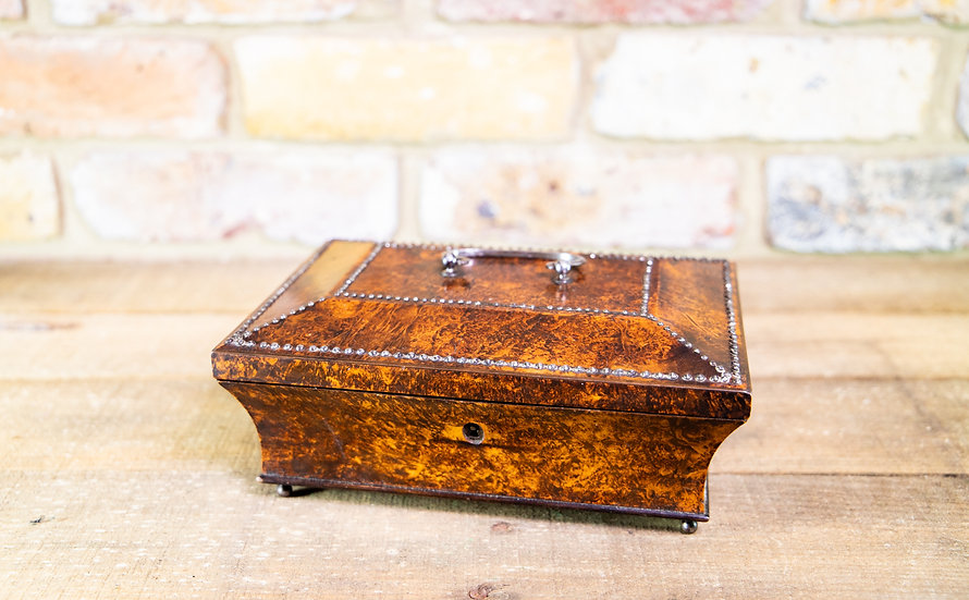 French Amobyna Trinket Box c.1870 SOLD