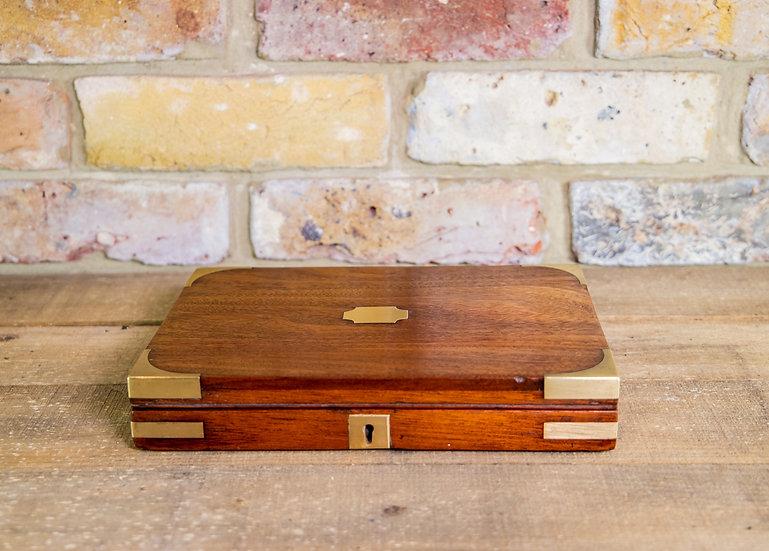 Mahogany Jewellery Box 1830 SOLD