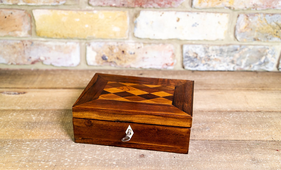 Rosewood Desk Box c.1830