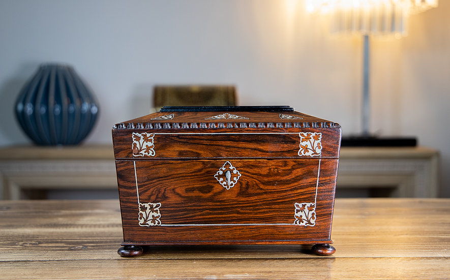 Rosewood William IV Box