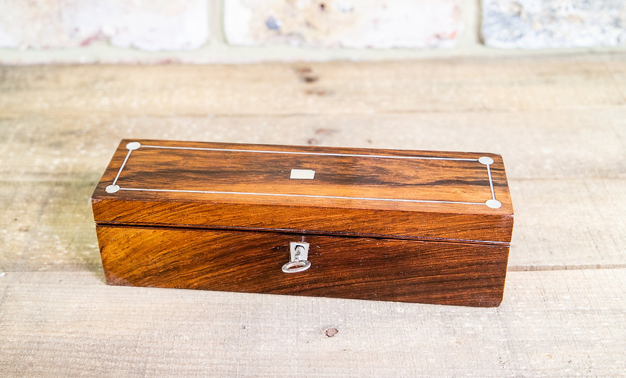Rosewood Desk Box 1850 SOLD