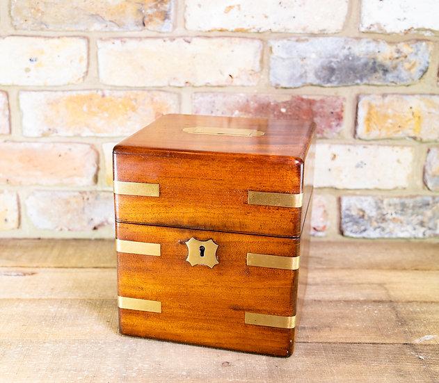 Mahogany Campaign Box c.1820 SOLD