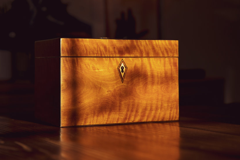Georgian Satinwood Watch Box 1800