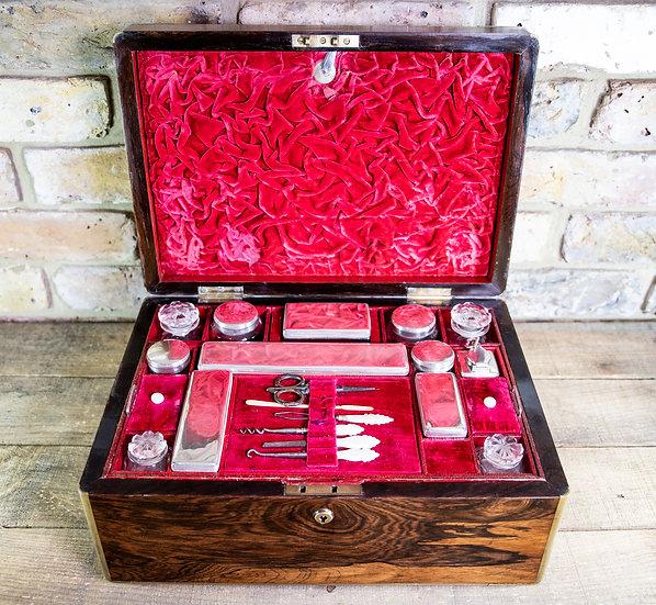 Large Rosewood Vanity Box c.1820 SOLD