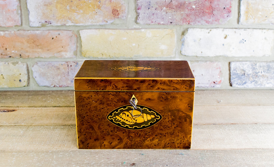 Rare Collectors Georgian Tea Caddy c.1800 SOLD