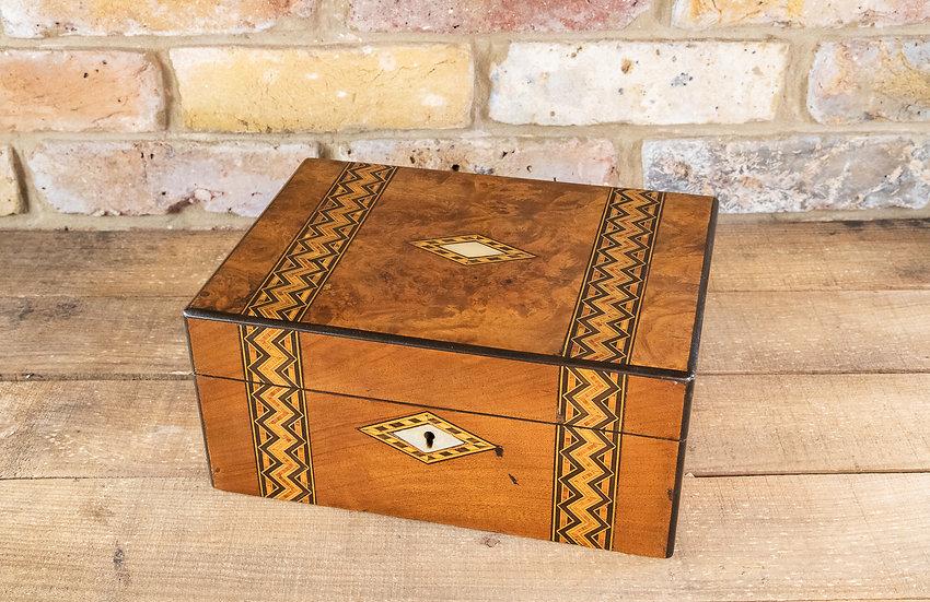 Tunbridge Ware Table Box 1880 SOLD