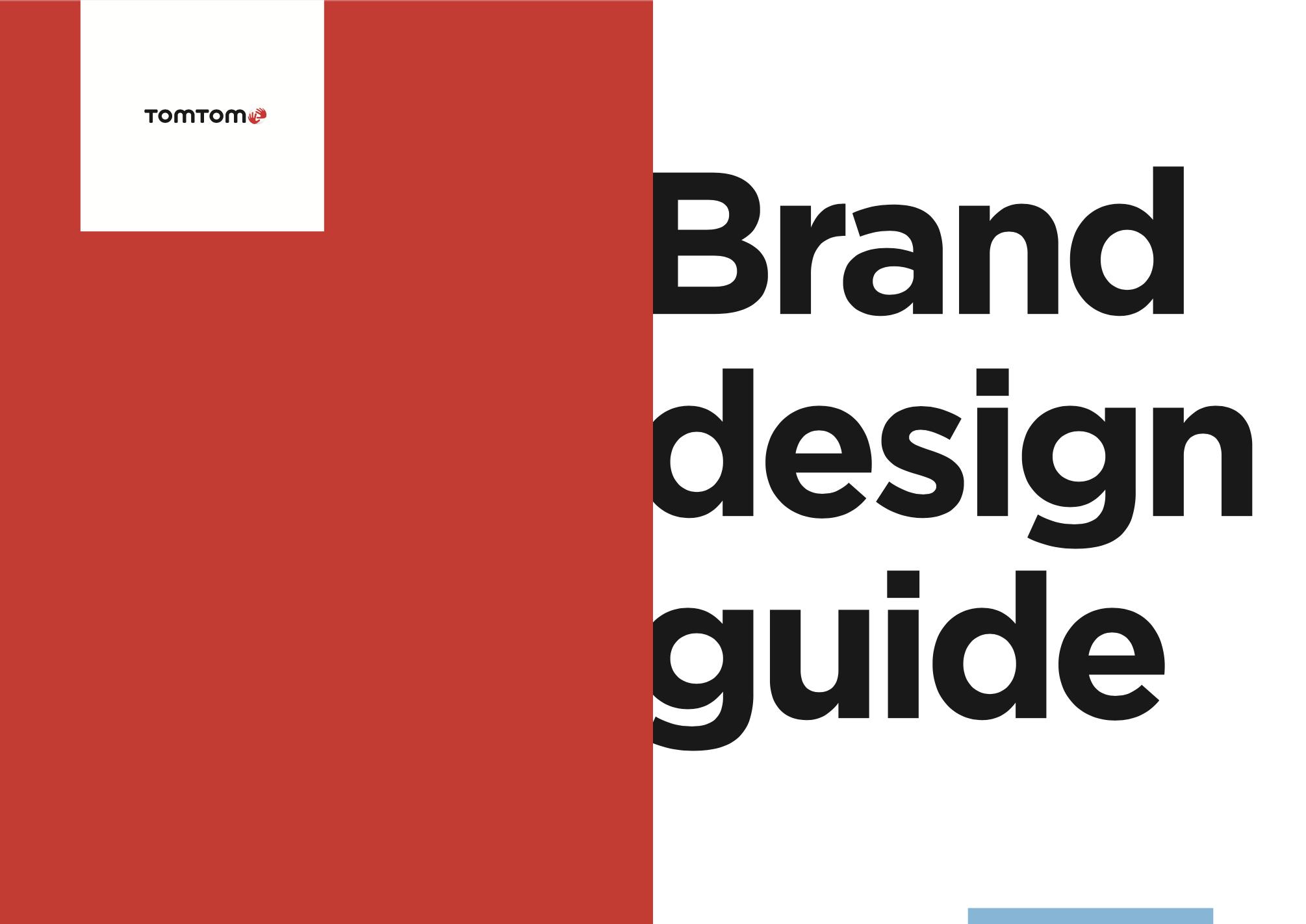 TomTom brand guidelines