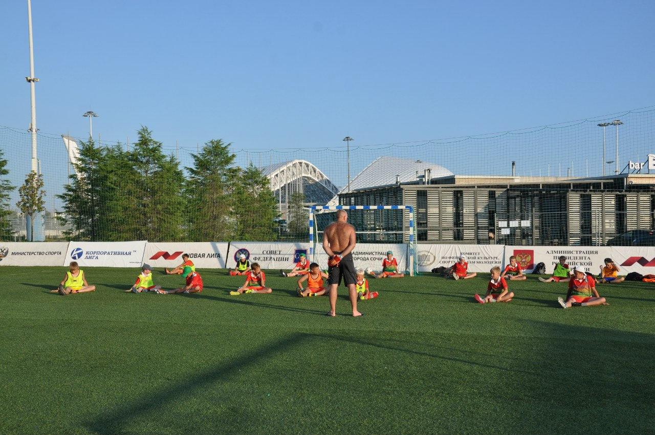 Тренировка по футболу 2006-2009 г.р.