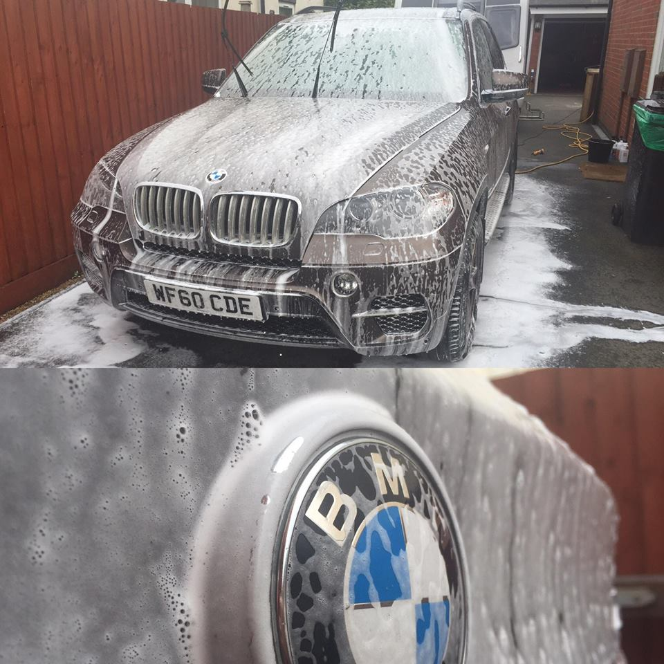 BMW X5 Snow Foam