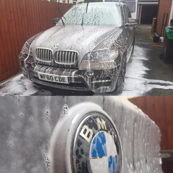 BMW X5 Snow Foam