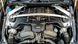 Aston Martin Engine Steam Clean