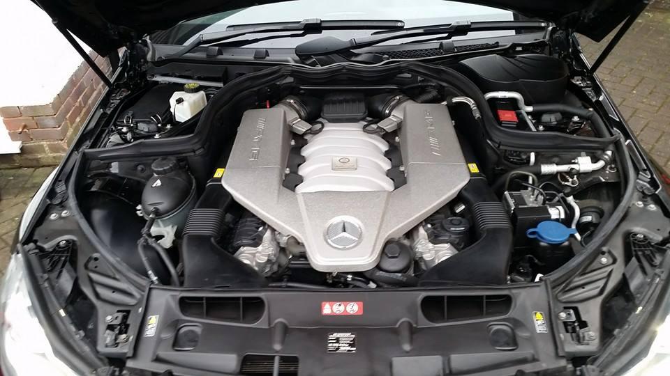 C63 Engine Bay Detail