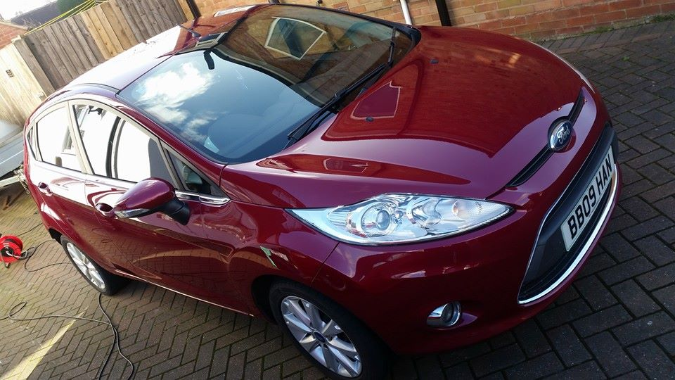 Fiesta Zetec Enhancement Detail