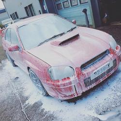 Subaru Snow Foam