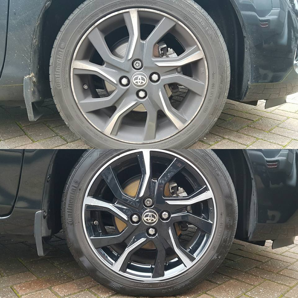 Before and after Valet