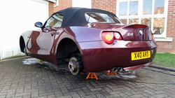 BMW Z4 Correctional Detail