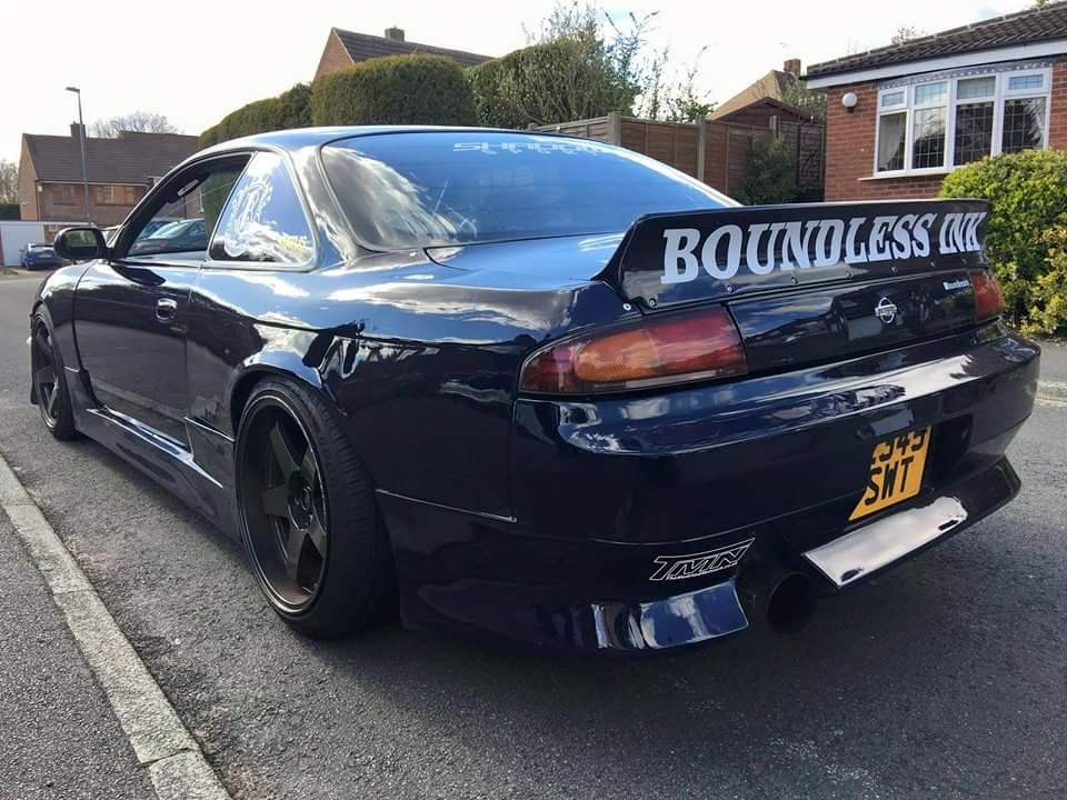 Sponsored Car - S14 Rocket Bunny