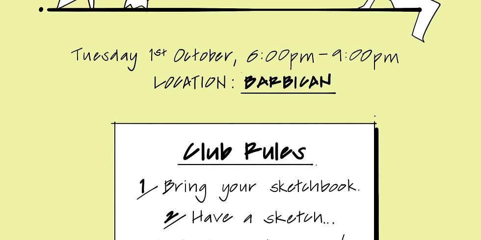 URBAN SKETCH CLUB: Barbican (1)