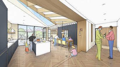 Interior House Kitchen Dining Architectu