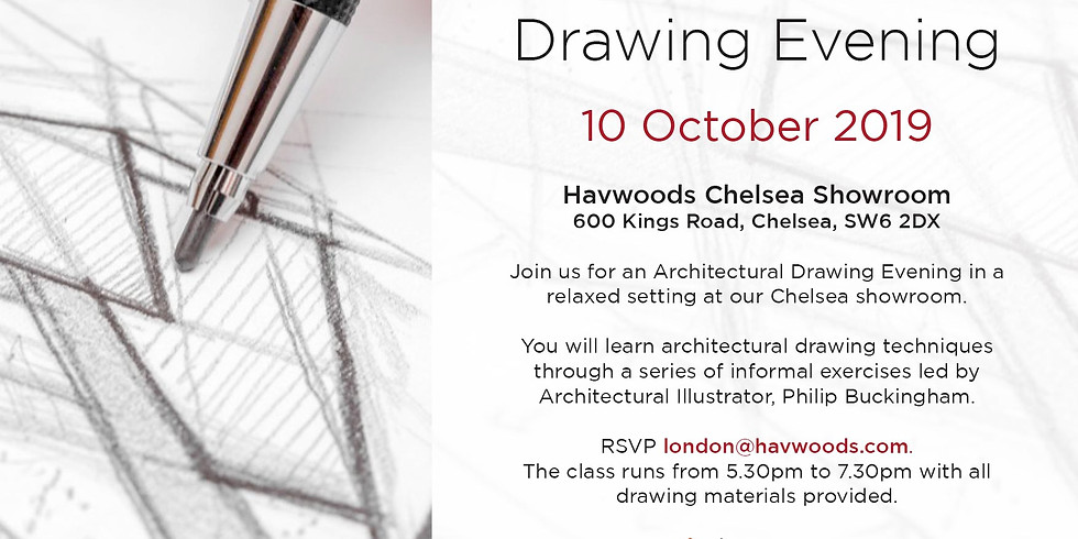 Architectural Drawing Class: Havwoods' Chelsea Showroom