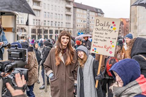 Bundesweite Proteste gegen den § 219a