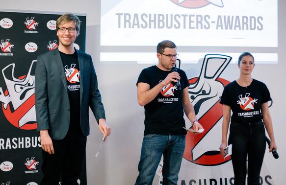 Trashbusters II Auszeichnungen. Foto: NAJU/Hakal