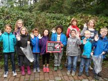 """Aktion der NAJU-Kindergruppe """"Fledermäuse"""".  Foto: Naturschutzjugend"""