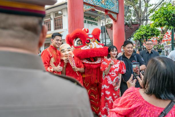 Bangkok Tourist Police Event