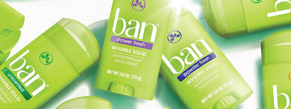 Ban Desodorantes Antitranspirantes Sticks