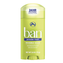 Ban Desodorante Antitranspirante Stick Powder Fresh