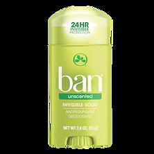 Ban Desodorante Antitranspirante Stick Sem Perfume