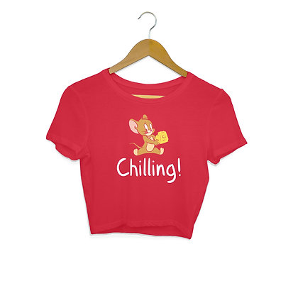 I'm Chilling Crop Top