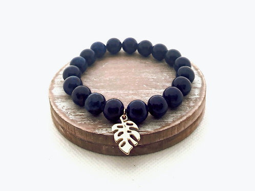 Lapis Stretch Bracelet