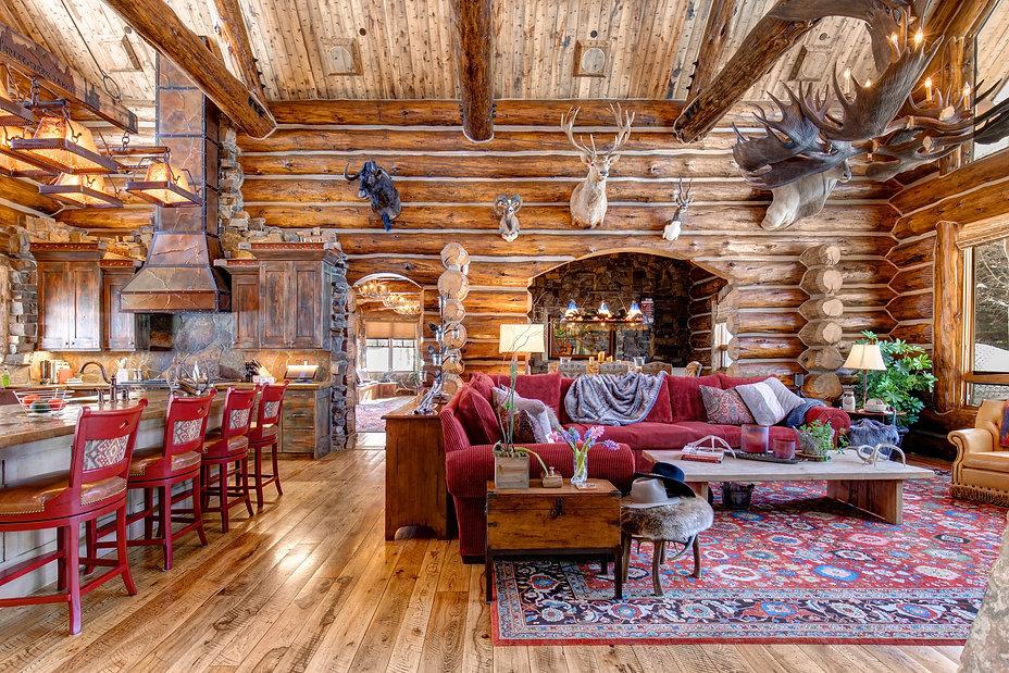 absaroka living room