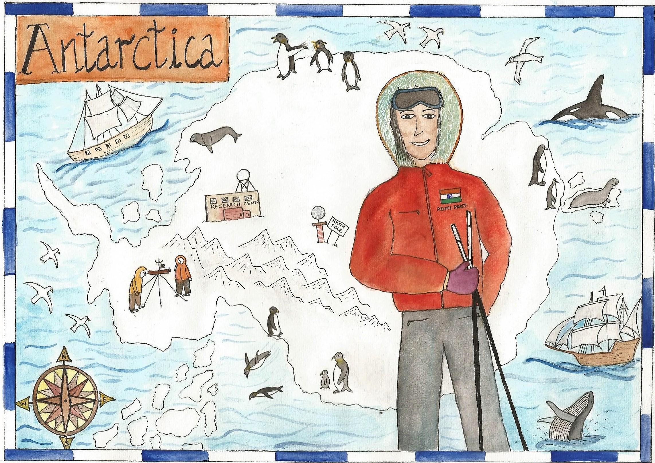 The Antarctic Explorer
