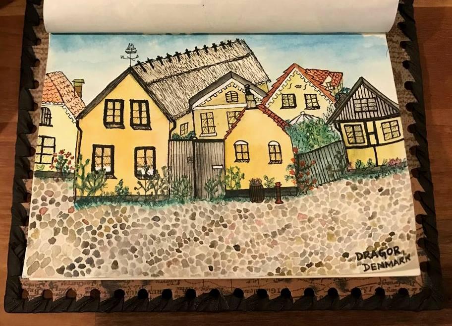 A quaint village in Denmark