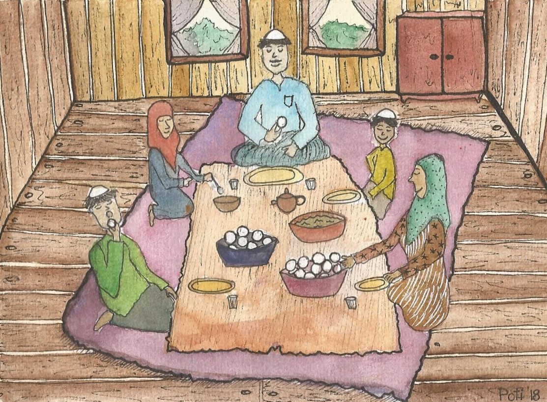 A local Malay family