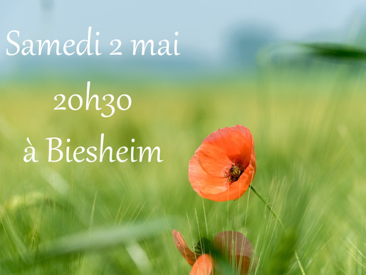 Samedi 2 mai 2020 : Concert à  Biesheim