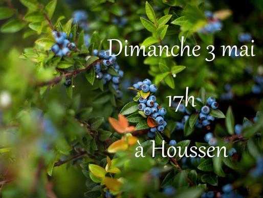 Dimanche 3 mai 2020 : Concert à Houssen