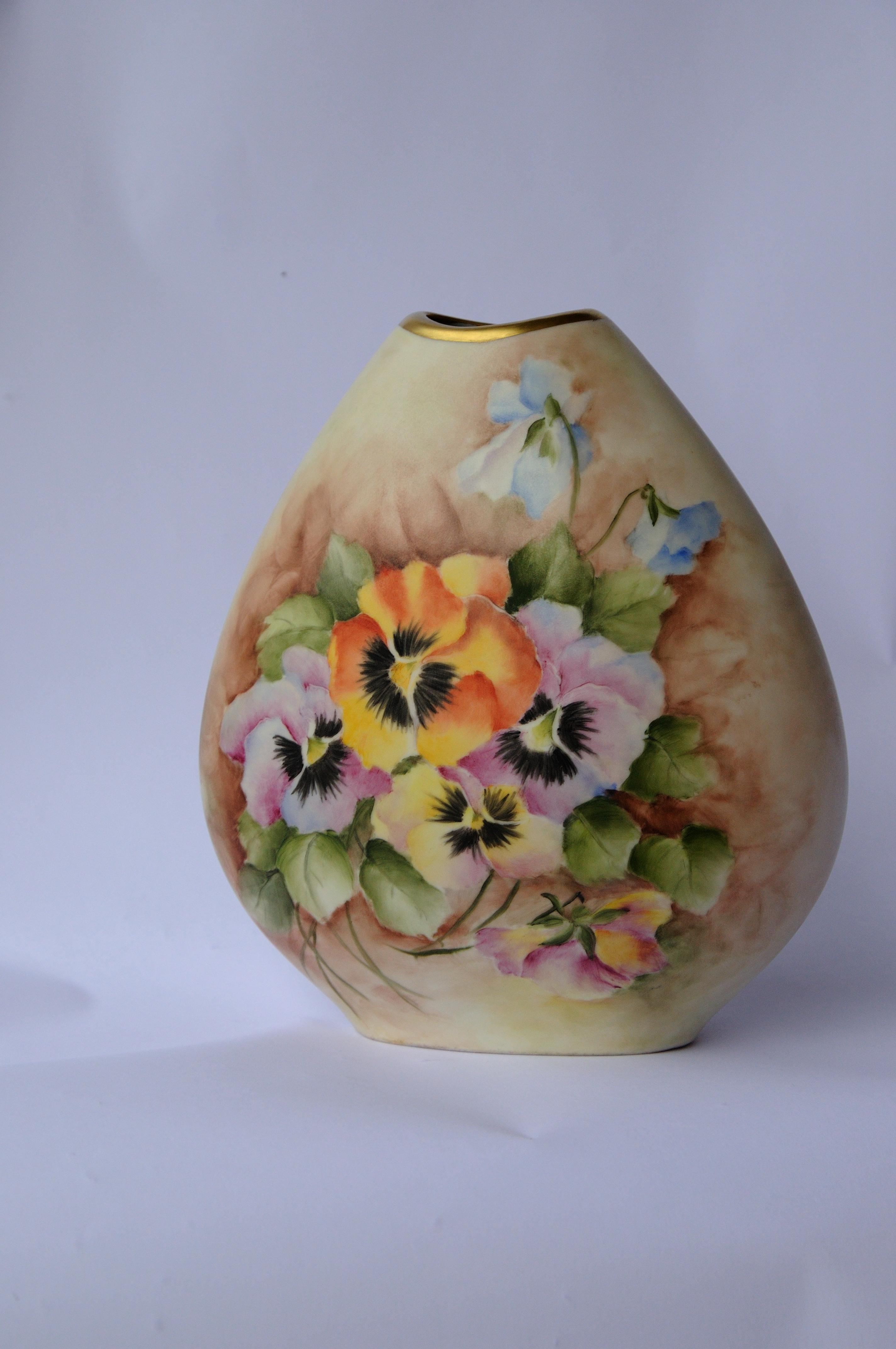 Vase Pensées