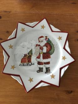 Père Noël au travail