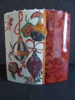 Vase de Noël