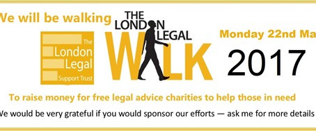 Chambers to take part in London Legal Walk 2017