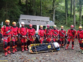 Canyoning Tragenschulung