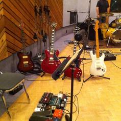 At Entourage studios