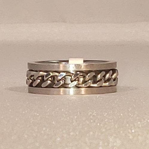 Stainless Steel Spinner Ring