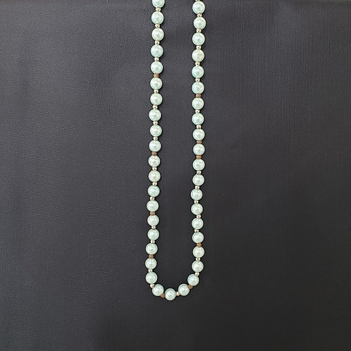 Light Teal Bead Necklace