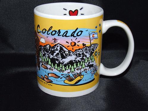 Love Colorado Coffee Mug