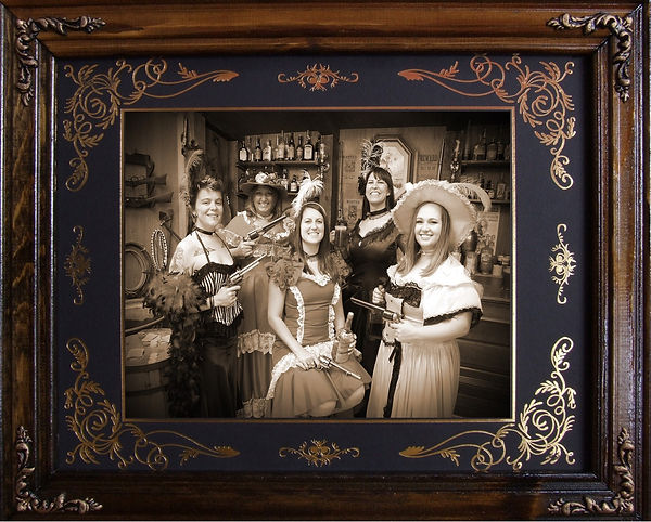 Bachelorette party matted and framed.jpg
