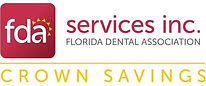 Logo for Florida Dental Association Crown Savings Program FDA endorsement of iCoreConnect